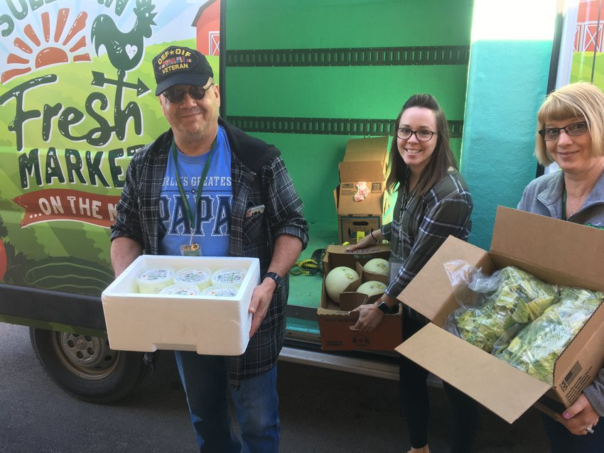 Cornell Cooperative Extension Sullivan County partners with SALT, area schools, and Sullivan County government to distribute food to vulnerable populations throughout the county.