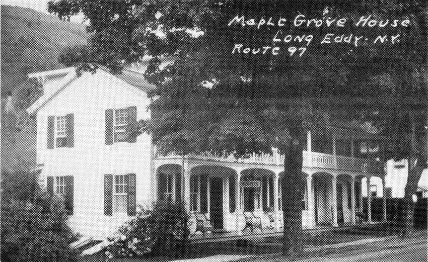 The Maple Grove Hotel, scene of the counting.