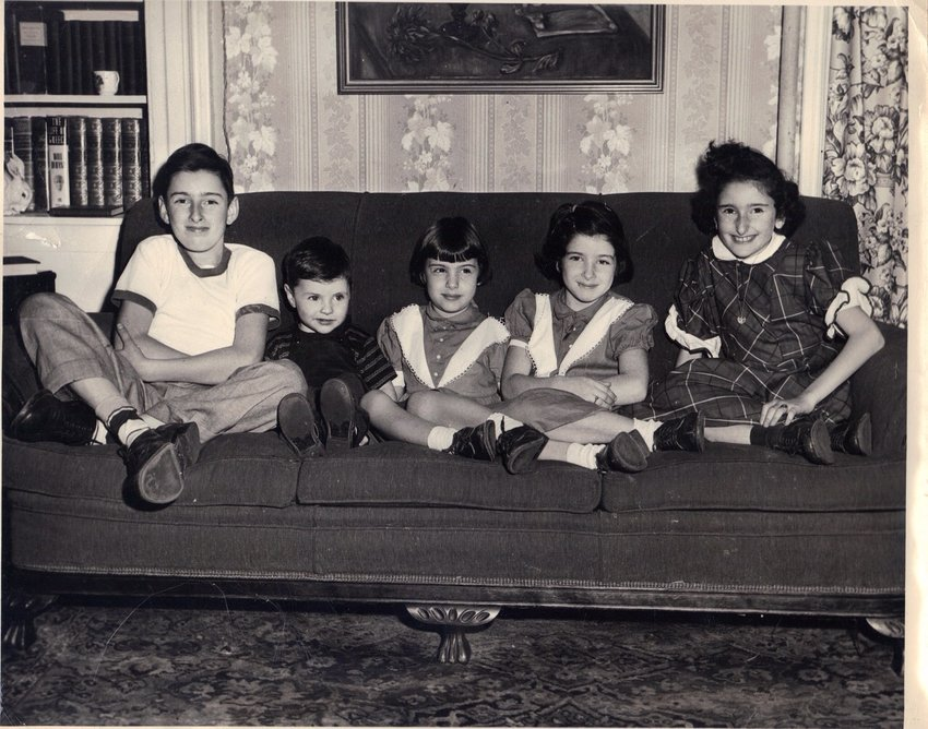 Doyle family photos from the boardinghouse years.