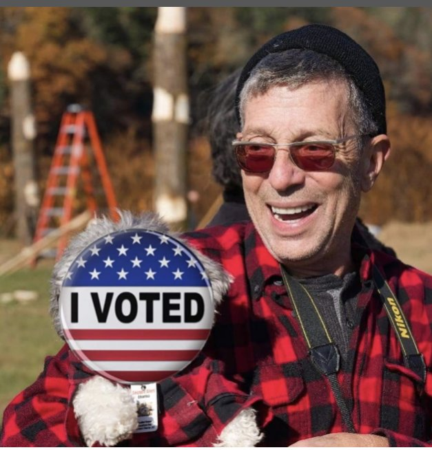 I've already voted; it was at a secure polling station sanctioned by the U.S. government.