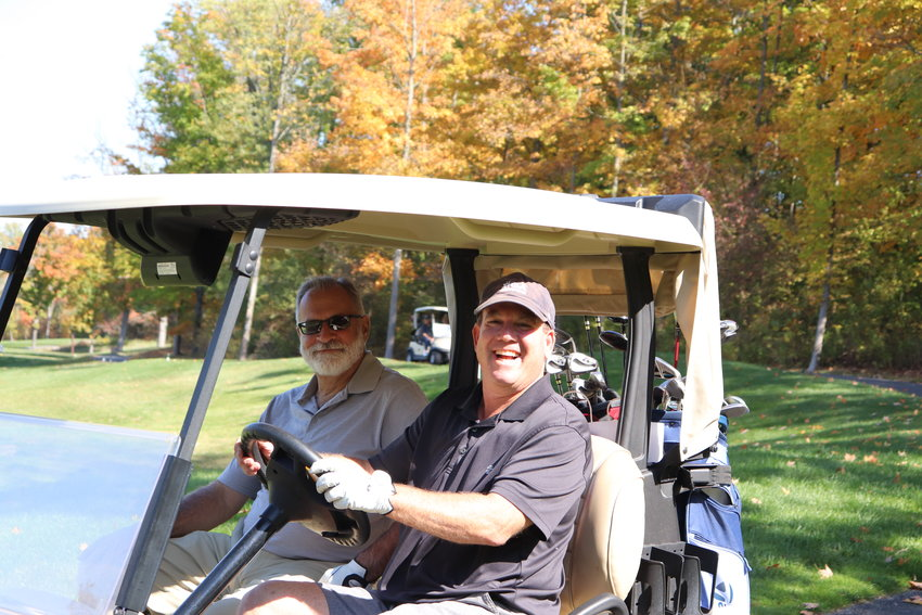 Golfers enjoyed the day of golf while supporting New Hope Community.