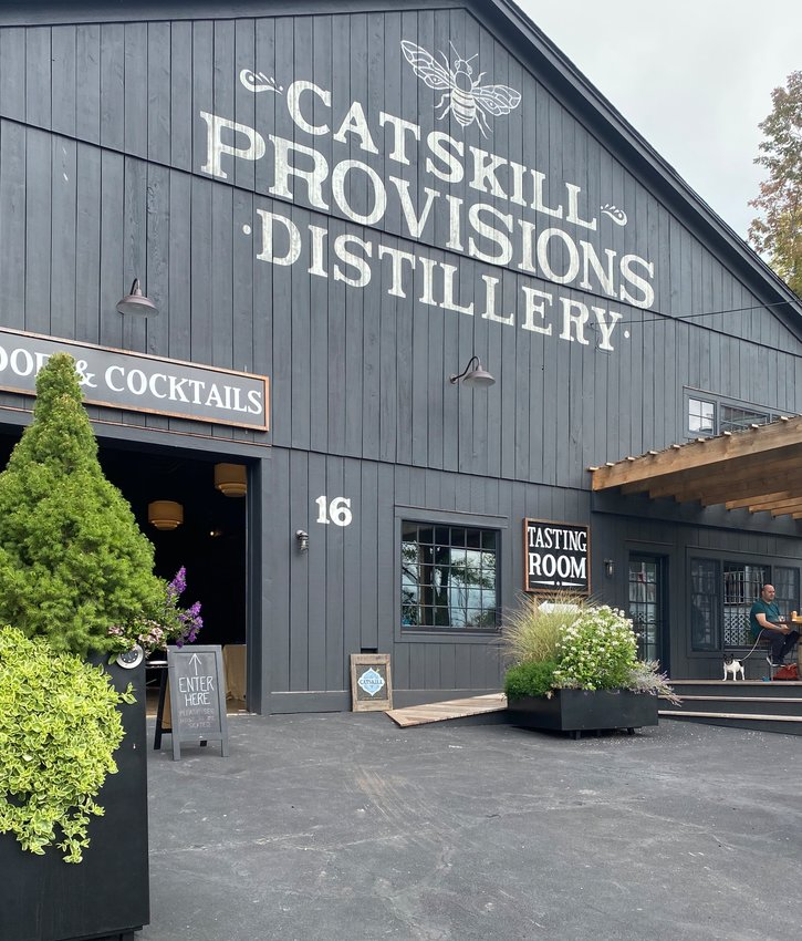 Catskill Provisions' Tasting Room opened mid-pandemic. Other businesses in Callicoon celebrated it as a small victory for the town in a tough time.
