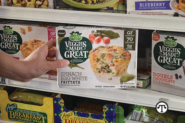 Here's a cool idea for troubled times: Stock up on healthful, veggie-ful frozen foods.