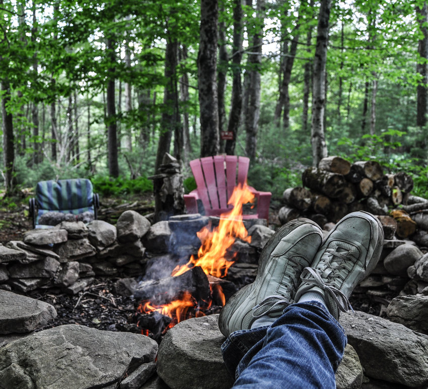 You may be anxious (like me) to put on a plaid shirt, strut around all life-in-the-woodsy and burn stuff in your fire pit, but there are strict rules to follow.