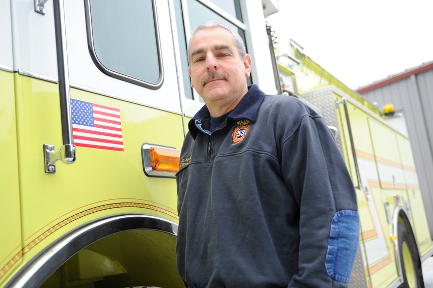 Sullivan County Division of Public Safety Commissioner Rick Sauer. The division oversees the county's Office of Emergency Management/Homeland Security, Bureau of Fire, Bureau of Emergency Medical Services and the E-911 Center. Sauer previously had a noteworthy career with the New York State Police.