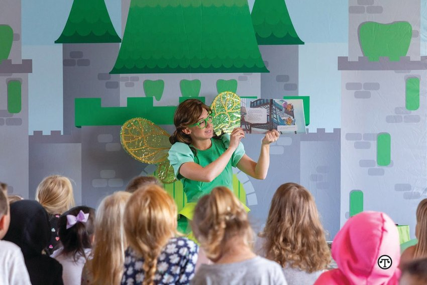The tooth fairy makes in-person and virtual visits to help improve the oral health of kids throughout Washington.