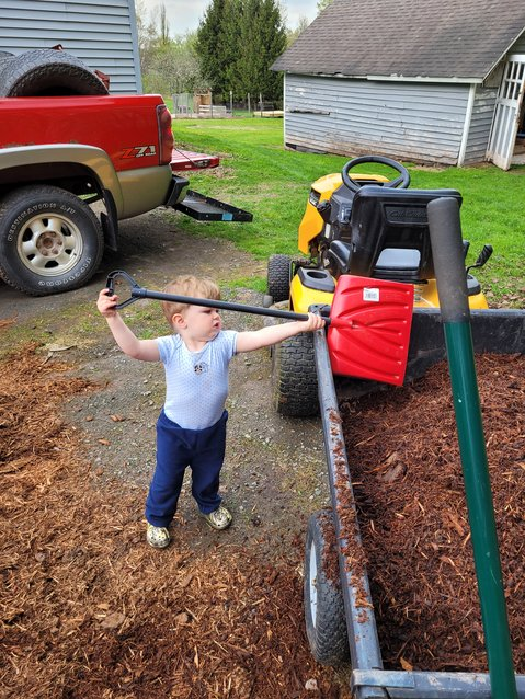Forgive the dad-brag, but I never even had to teach my son how to shovel.