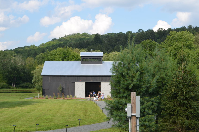 The Haypress Barn at the Callicoon Hills Resort is the Delaware Valley Opera's summer home.
