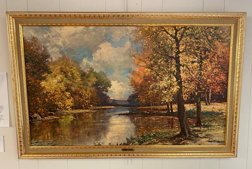 """""""At the Sawkill"""" by Robert Wood is one of many artworks available for adoption."""