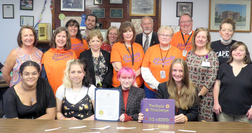 Go Orange Day, October 21, celebrates Rachel's Challenge and promotes a culture of kindness.