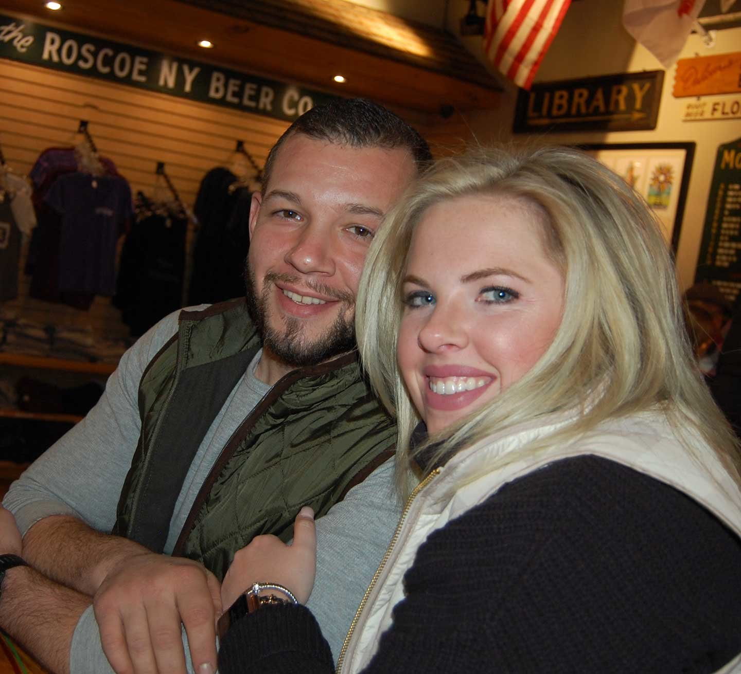 """We will absolutely be back!"" exclaimed Neversink resident Shannon, of her first time at the Roscoe Beer Company and WinterFest. ""It's a hidden gem in the Catskills,"" she declared as boyfriend Nick nodded in agreement."