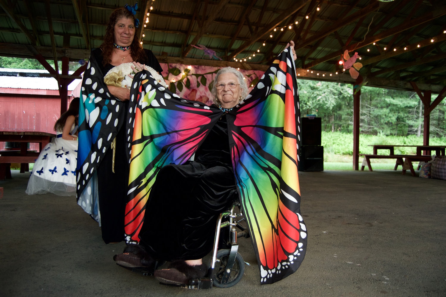 Dorothy Cardinal spreads her wings.