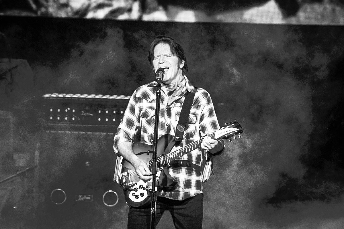 John Fogerty returned to the garden for the 50th anniversary of the Woodstock Music and Arts Fair.