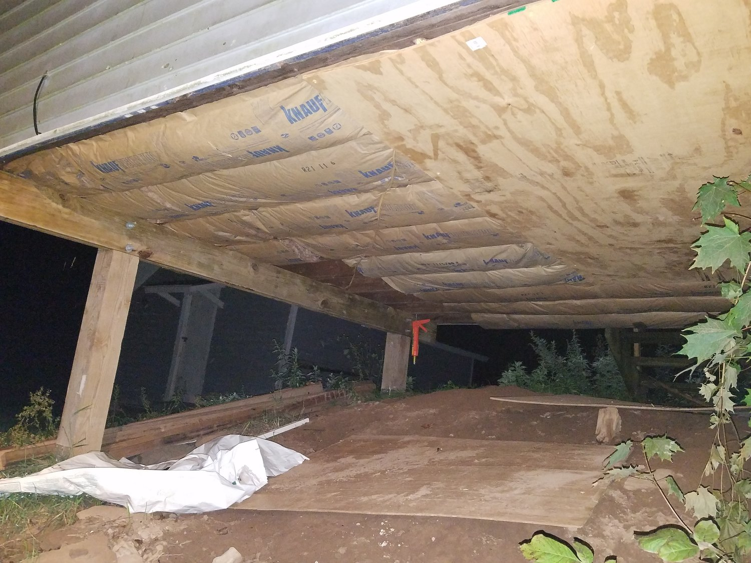 It isn't much to look at, but a well-insulated addition makes for a warm and happy family as the nights get colder.