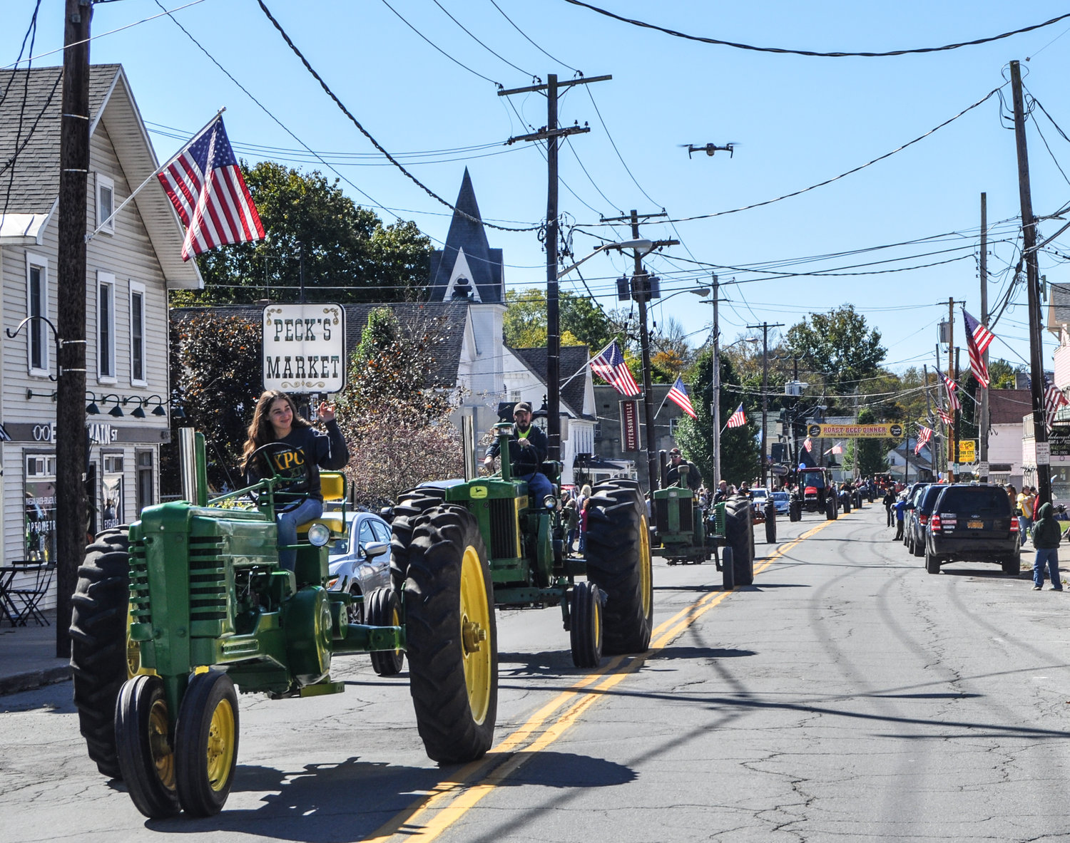 There's nothing like a good 'ol-fashioned tractor parade, IMHO.