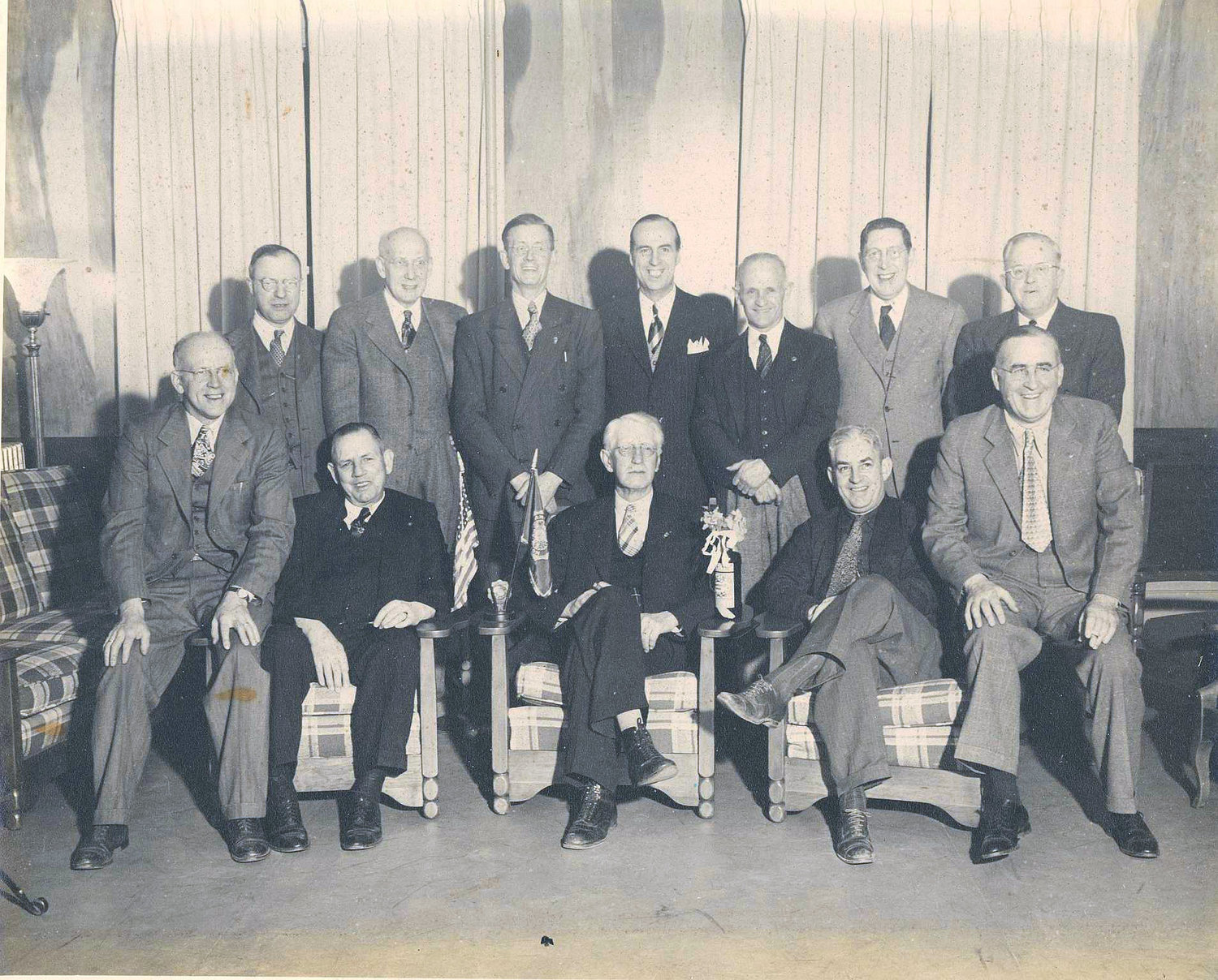 The Last Man's Club of Wayne County, circa post-WWI.
