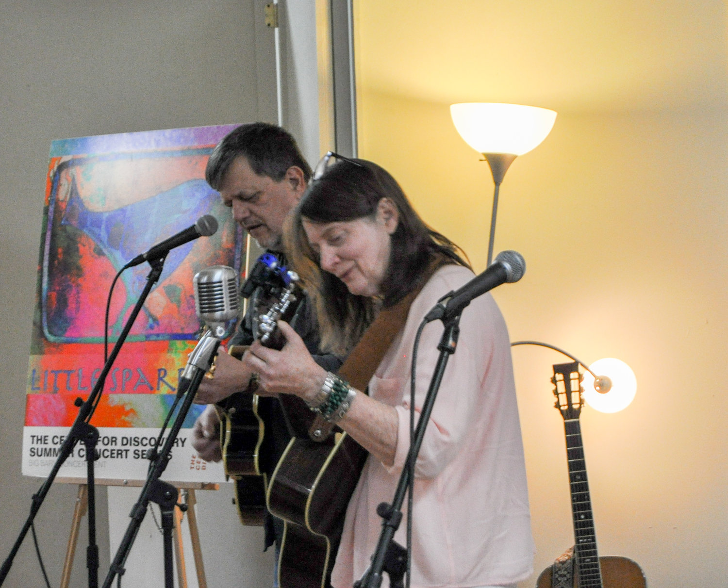 "I once described Little Sparrow's musical duo Aldo Troiani and Carol Smith as the ""Sonny and Cher of the Catskills."""