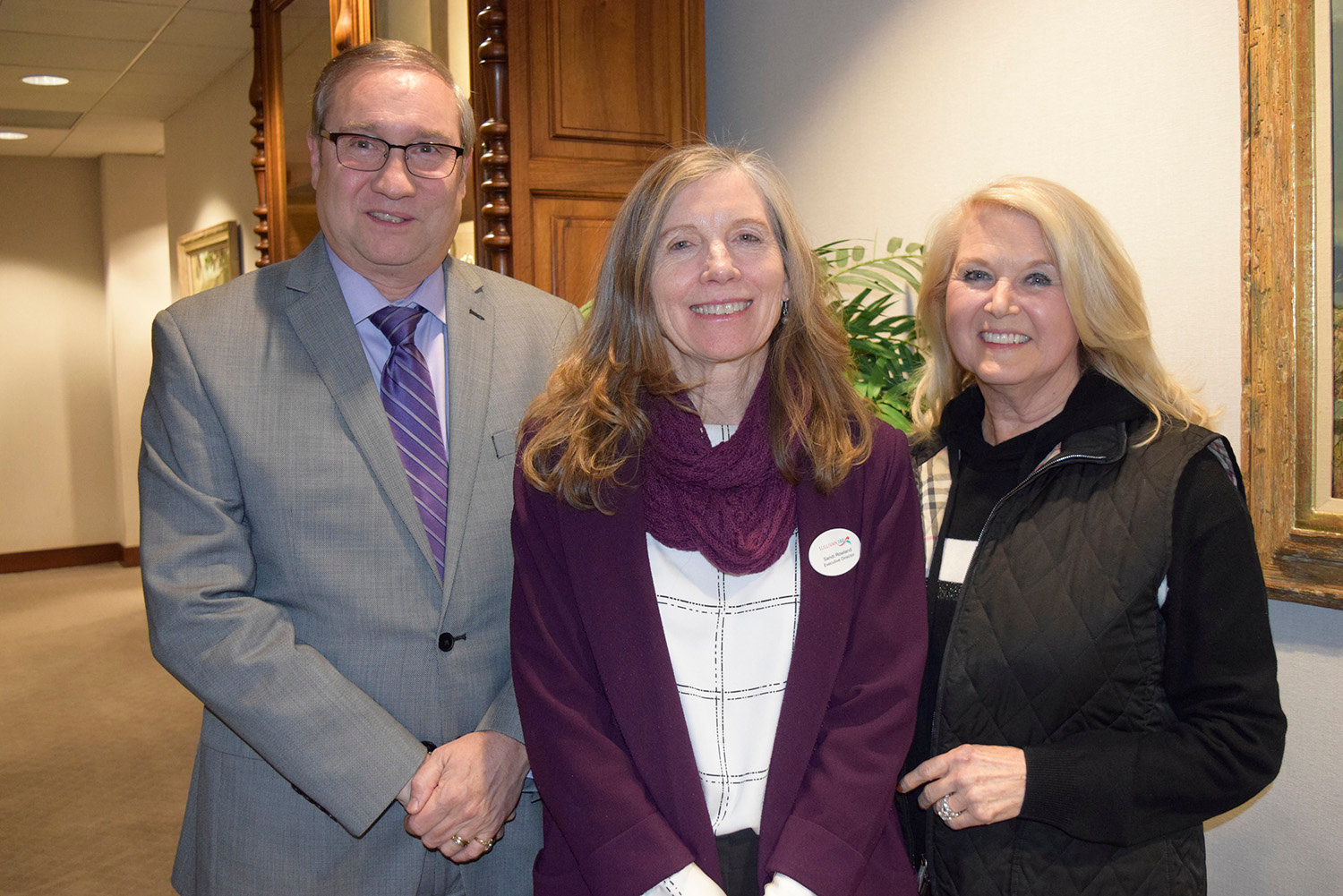 Sullivan 180 and Sullivan BOCES partner to expand health and wellness efforts in Sullivan County Schools. Pictured are District Superintendent of Sullivan BOCES Robert Dufour, Ed.D., left, Sullivan 180 Executive Director Sandi Rowland and Sullivan 180 Chair of the Board of Directors Sandra Gerry.