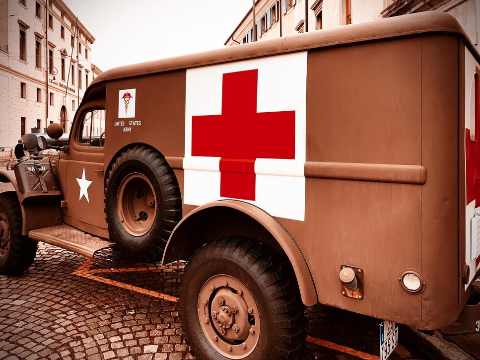The Red Cross entered World War II before the United States did. It established and staffed auxiliary hospitals and acted as a neutral force, treating anyone from any country who was injured in the conflict.