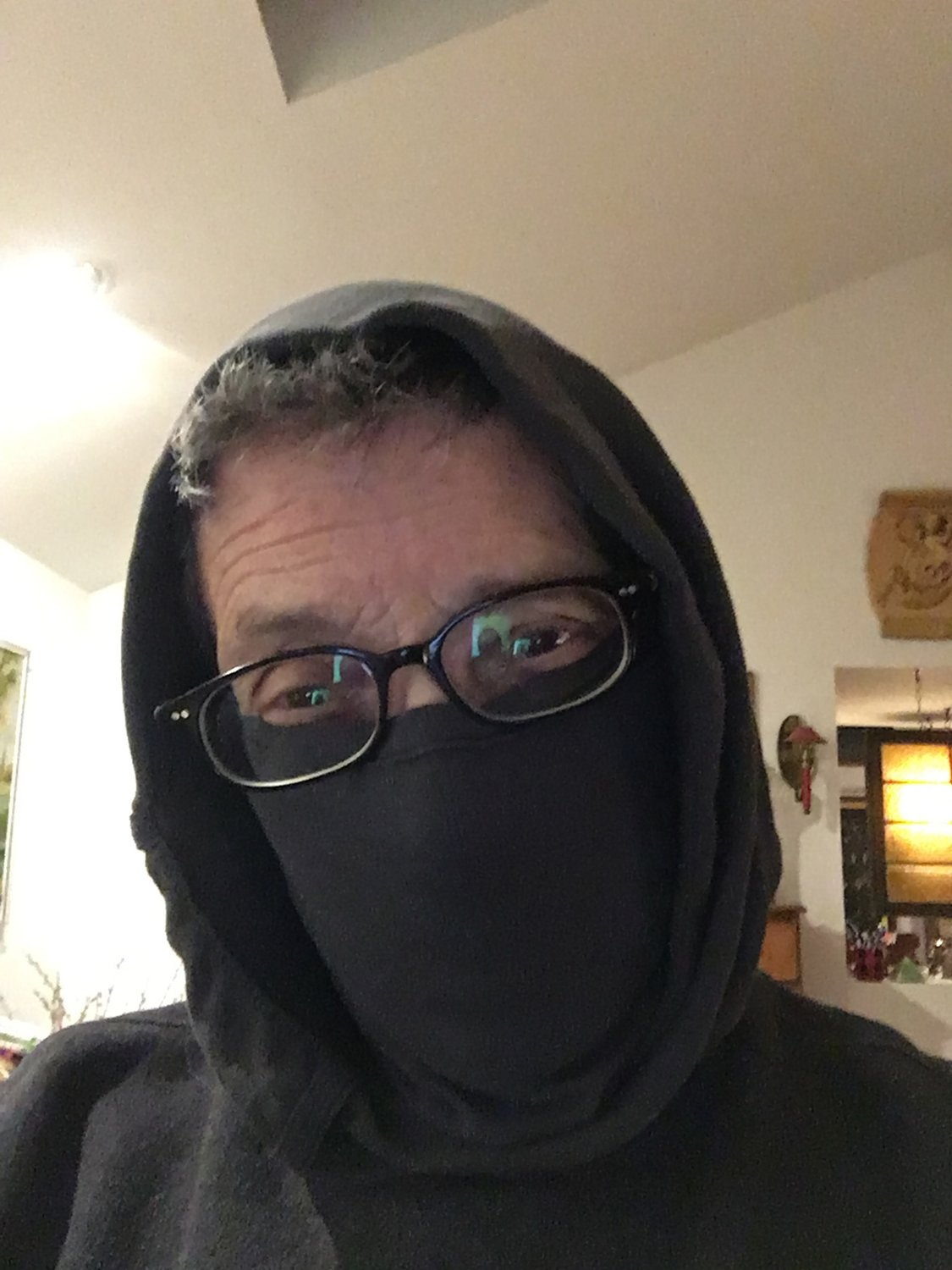"""Luke, I am your father,"" TRR columnist Cass Collins commented on my failed attempt to turn my underwear into a surgical mask. No need to explain her joke."