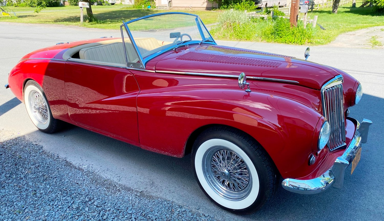 A 1955 Sunbeam Alpine MK III, one of only 21 in the world, will be on display at the event.