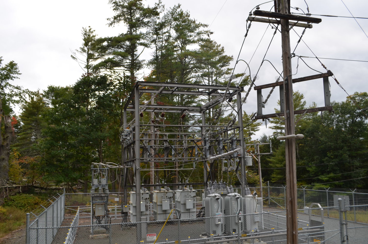 The Yulan substation is one of the oldest substations on line. Power from this station is often interrupted in most storms.