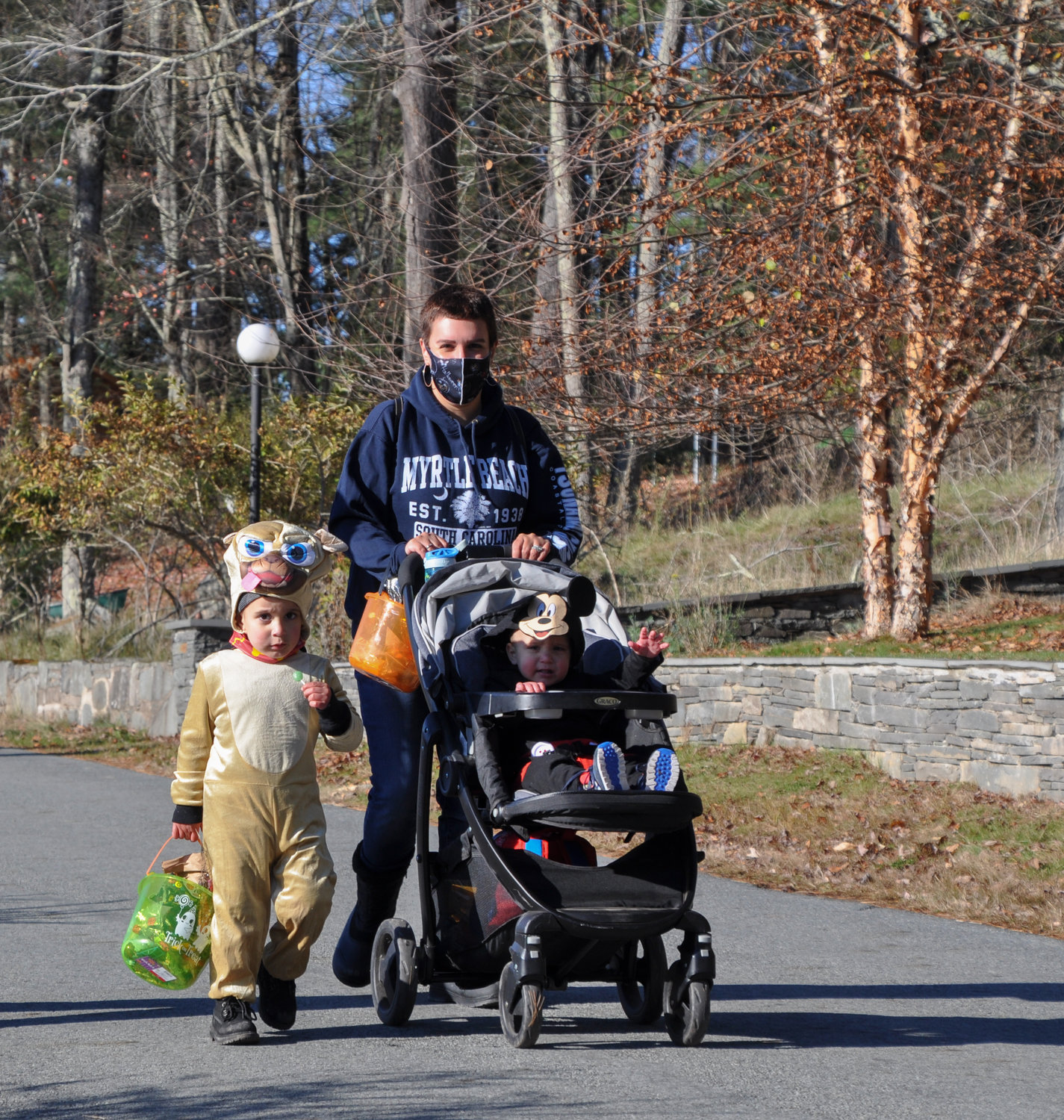 """Who was that masked man?"" I asked the dog on more than one occasion during the Halloween walk on the lake last weekend. ""More families with children are in Smallwood,"" Jonathan Hyman explained, ""because we are all living, working and attending school differently now."""
