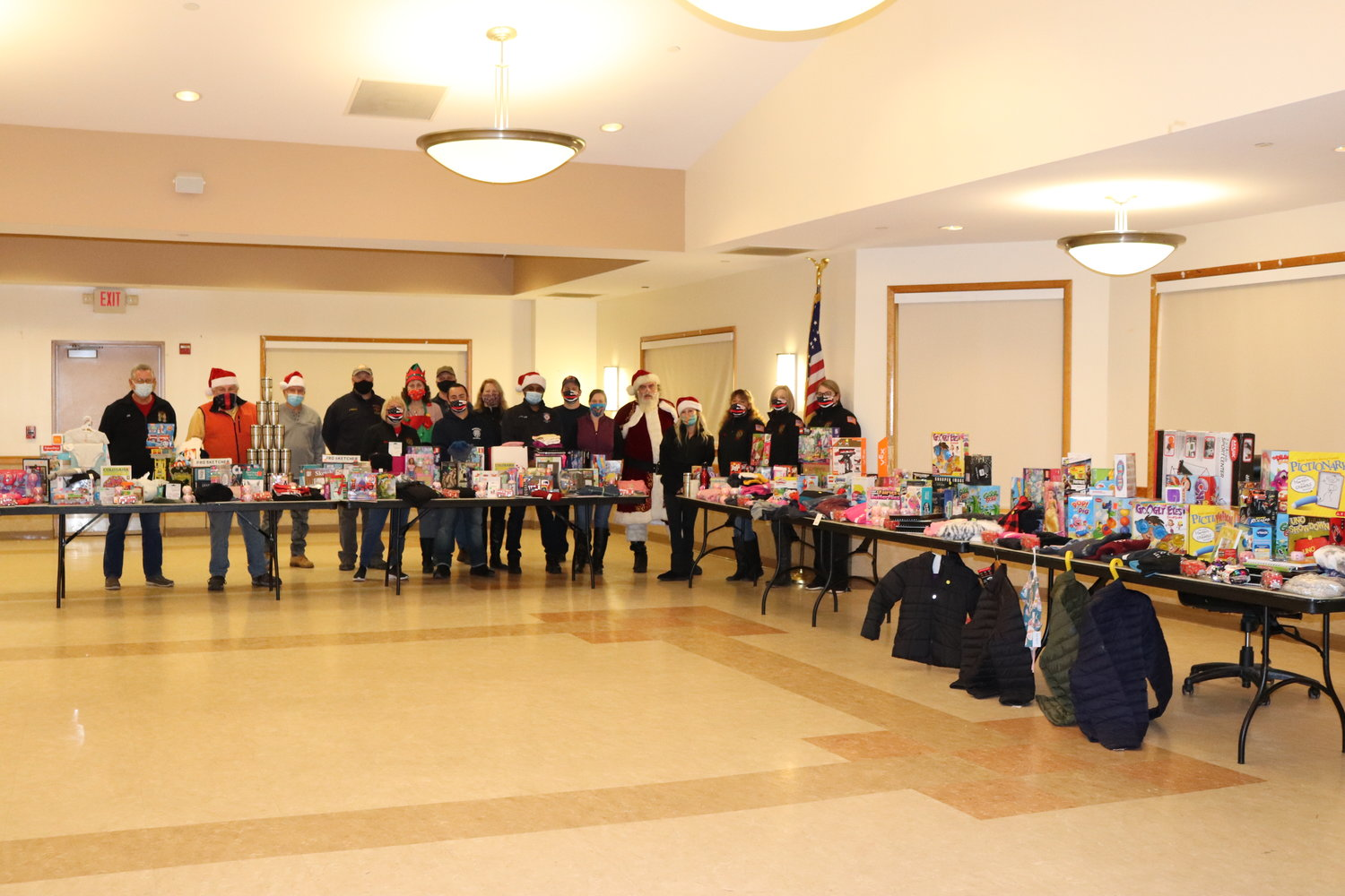 The toy drive provided approximately 250 gifts to 29 families with a total of 53 children.