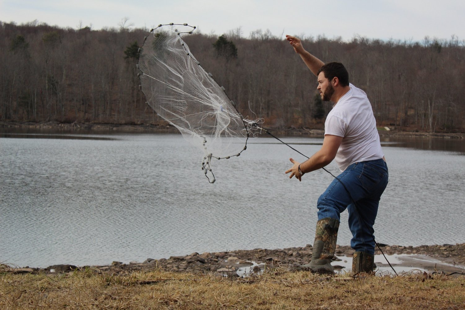 Throwing a cast net takes lots of practice, but before you approach the water, be sure to know the rules.