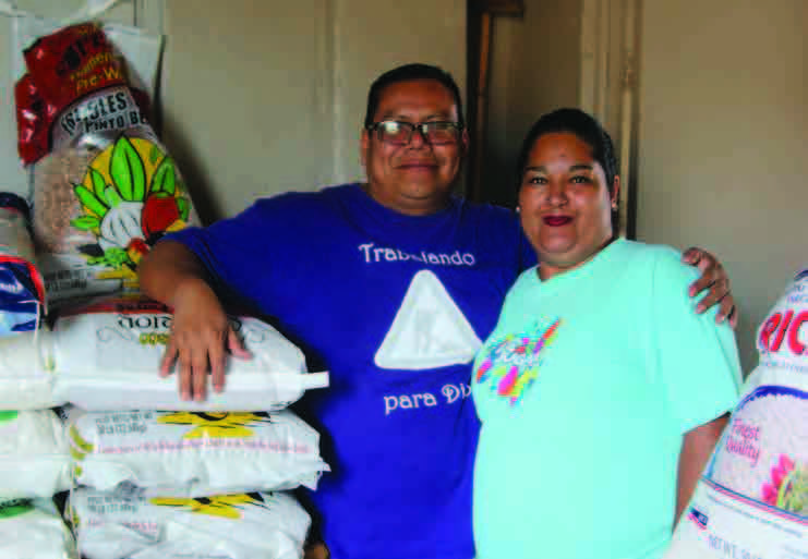 Pastor Gamaliel Lopez and his wife Mayra spearhead the migrant feeding ministry at Movimiento Juventud 2000 where they provide breakfast three days a week