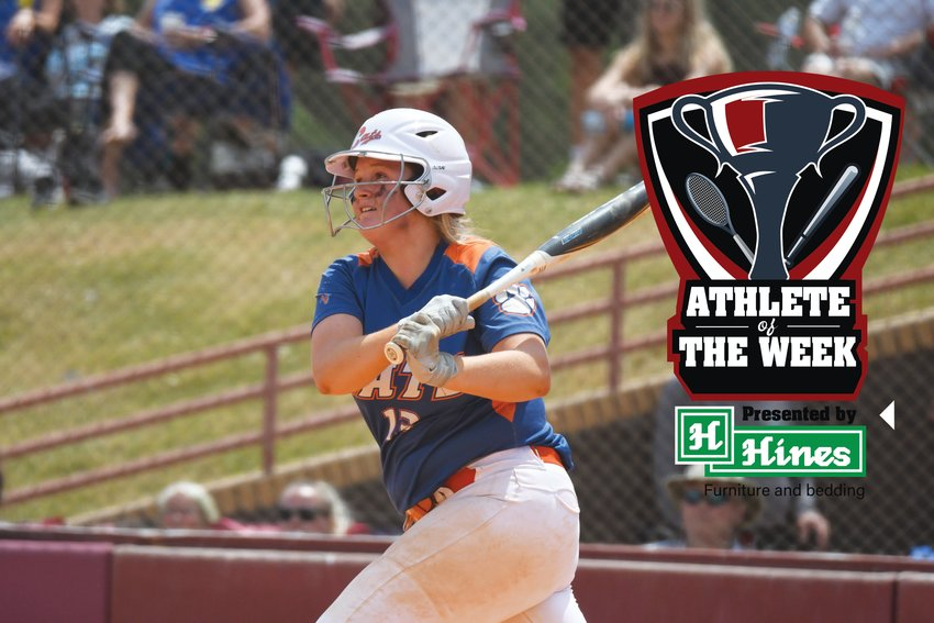 Laurence Manning's Hannah Truett was named the Hines Furniture Athlete of the Week after going 8-18 with four RBI during the Lady Swampcats' playoff run over the weekend.