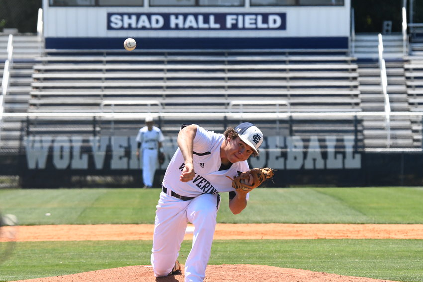 East Clarendon's Grant Barrineau and the Wolverines will face Green Sea-Floyds in the 1A state playoffs on Monday.