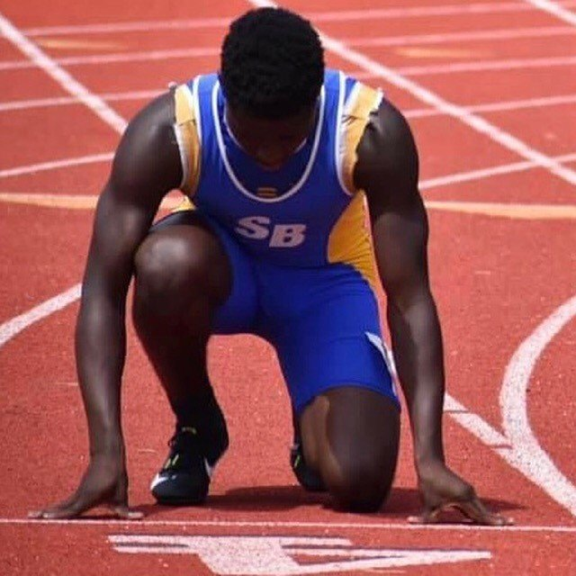 Scott's Branch's DeSane Washington qualified for the 1A state meet in 3 events, winning the long jump at the qualifying meet on Saturday.