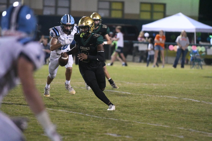 Thomas Sumter's Jamari Harris and the Generals host Lee Academy for a key region matchup on Friday