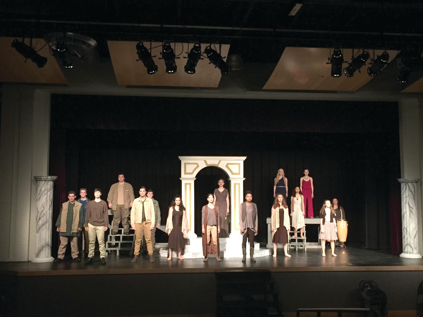 """Saint Raphael Academy won the Rhode Island State Drama Festival with its dramatic performance of """"Antigone."""" An additional performance is being planned before the drama club heads to the regional festival."""