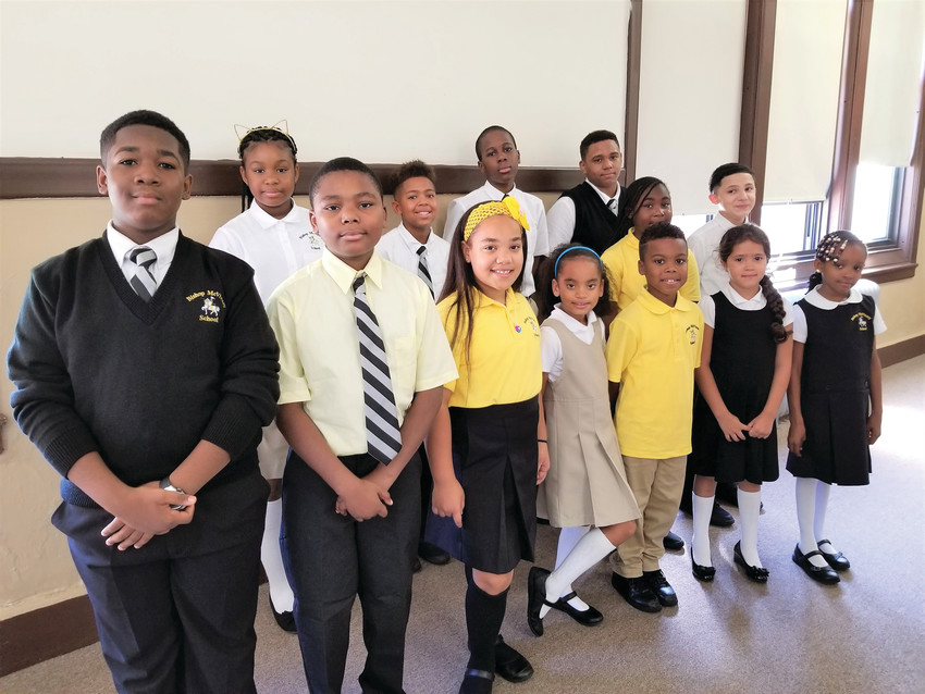 Bishop McVinney School in South Providence has organized a school supplies drive for its students and teachers, for items including notebooks, loose leaf paper, pens, pencils, scissors, glue sticks and crayons.