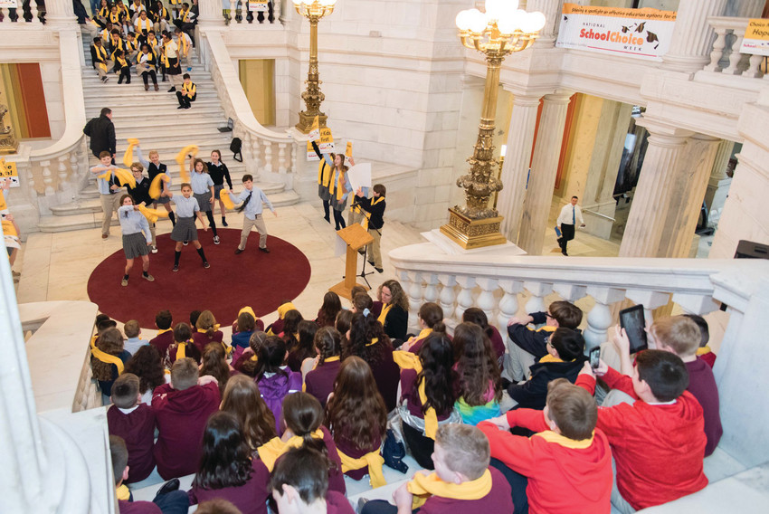 National School Choice Week takes center stage at the Rhode Island Statehouse and throughout the country as communities celebrating all educational options.