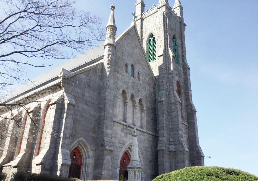 St. Mary's Church on Broadway, administered by the Priestly Fraternity of St. Peter, will celebrate its 150th anniversary in Providence, with Mass on July 11 at 6:30 p.m.