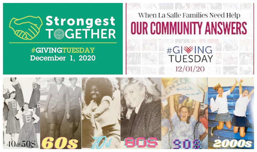 This compilation of promotional materials produced by Bishop Hendricken, La Salle Academy and St. Mary Academy-Bay View shows the impact that Giving Tuesday can have on Catholic education.