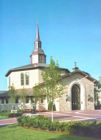 ST. DOMINIC CHAPEL at Providence College is the site of many weddings for students, alumni, faculty and staff. The college employs a wedding planner to help organize ceremonies.